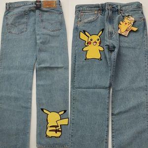 Levi's Pikachu Pokemon Jeans